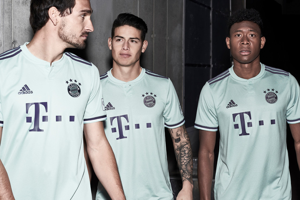 Adidas Football Fc Bayern Munich 2019 Away Kit Hypebeast