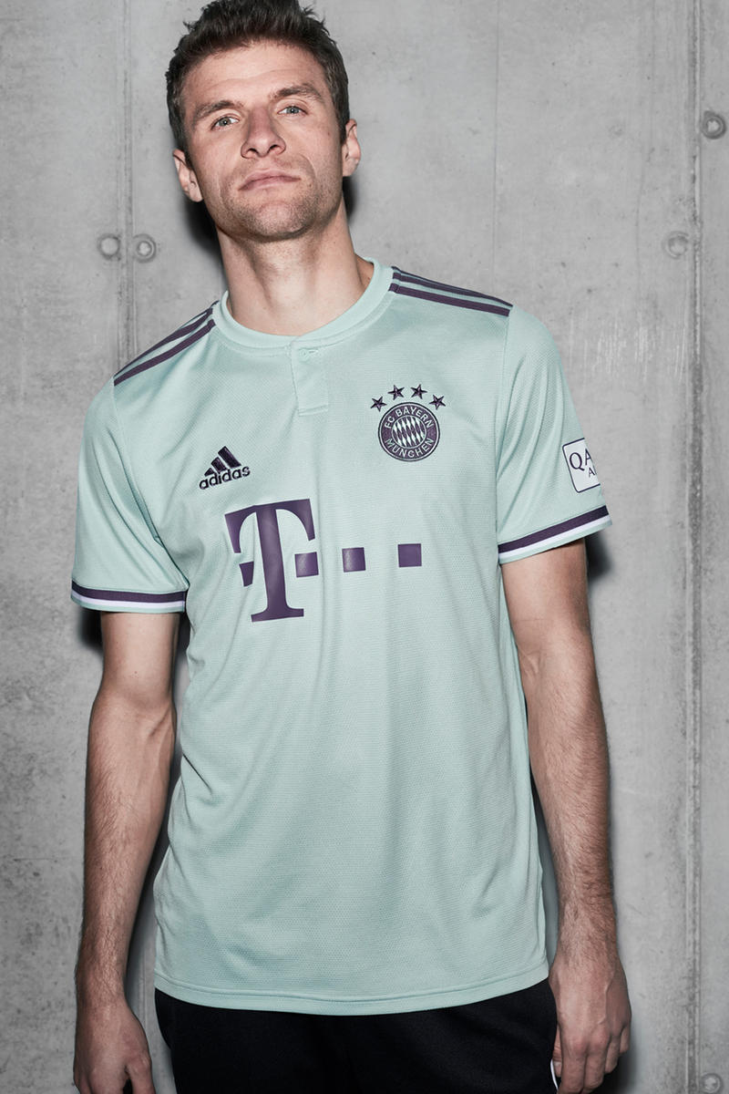 online store 87bae 10a03 adidas Football FC Bayern Munich 2019 Away Kit | HYPEBEAST