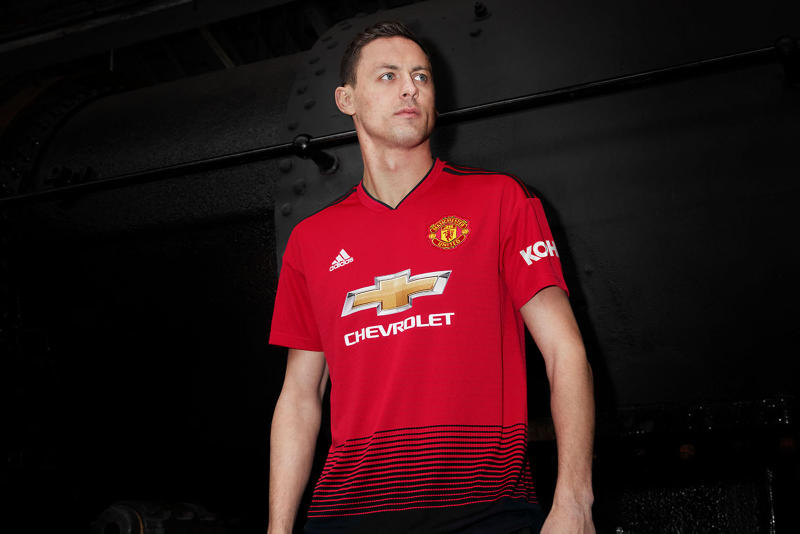 adidas Football Manchester United 2018/19 Home Kit Kits Jersey Shorts Socks Train Track Line Graphic 140th Anniversary Available Purchase Buy Cop Now Today
