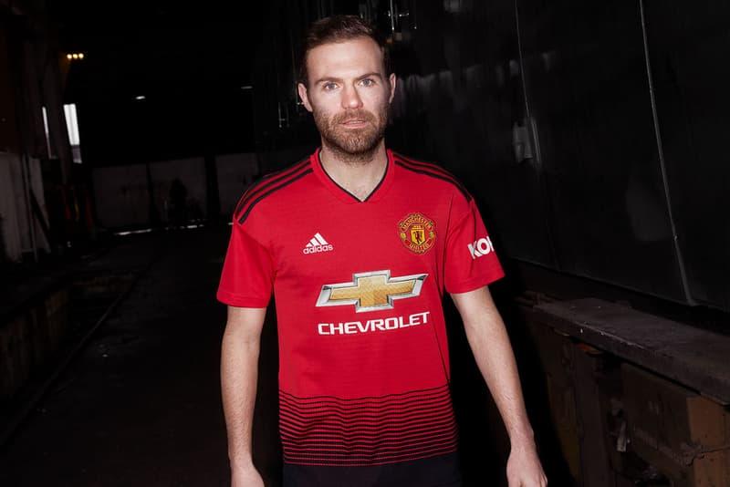 promo code eeeb6 d412a adidas Football Manchester United 2018/19 Home Kit | HYPEBEAST