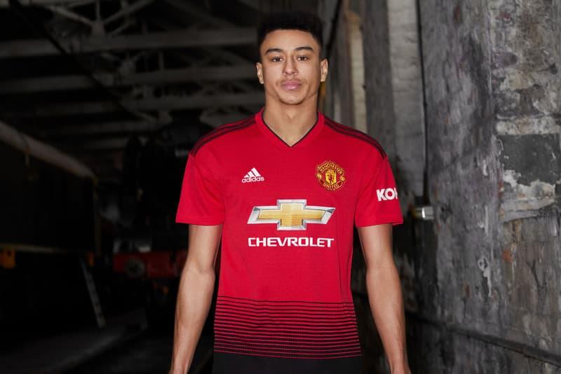 f3329a914 adidas Football Manchester United 2018 19 Home Kit Kits Jersey Shorts Socks  Train Track Line