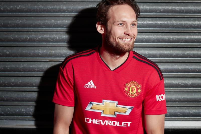 b85849eb7 adidas Football Manchester United 2018 19 Home Kit Kits Jersey Shorts Socks  Train Track Line