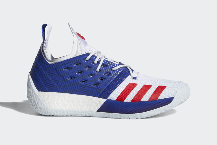 c4ab830d2bf adidas Harden Vol. 2 Gets a Patriotic New Outfit