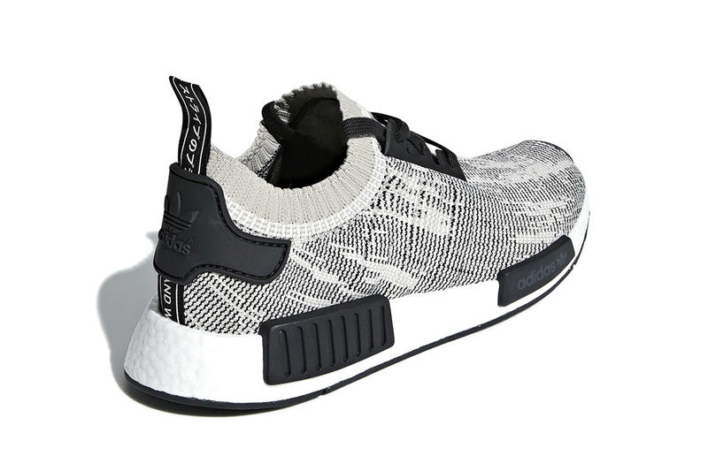 "adidas NMD R1 Primeknit ""Sesame"" off-white release info sneakers footwear"