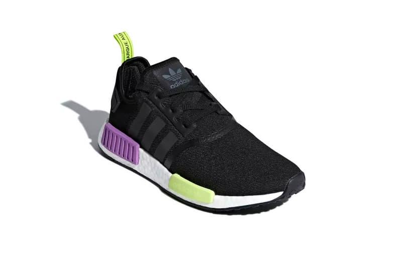 adidas NMD R1 shock purple 2018 august footwear