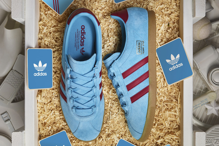 size  Continues adidas Originals Archive Releases With Blue   Burgundy Trimm  Star 4bde9d115