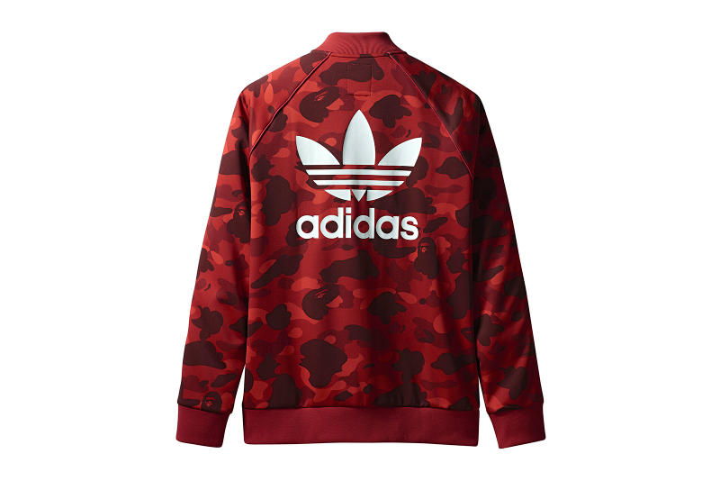 BAPE adidas Originals 2018 Apparel Collection Collaboration Collab adicolor Release Details Camouflage Release Information Details First Look Closer