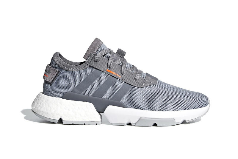 100% authentic db318 d6937 adidas POD-S3.1 Grey Solar Orange Clear Lilac Orchid Tint release info  sneakers