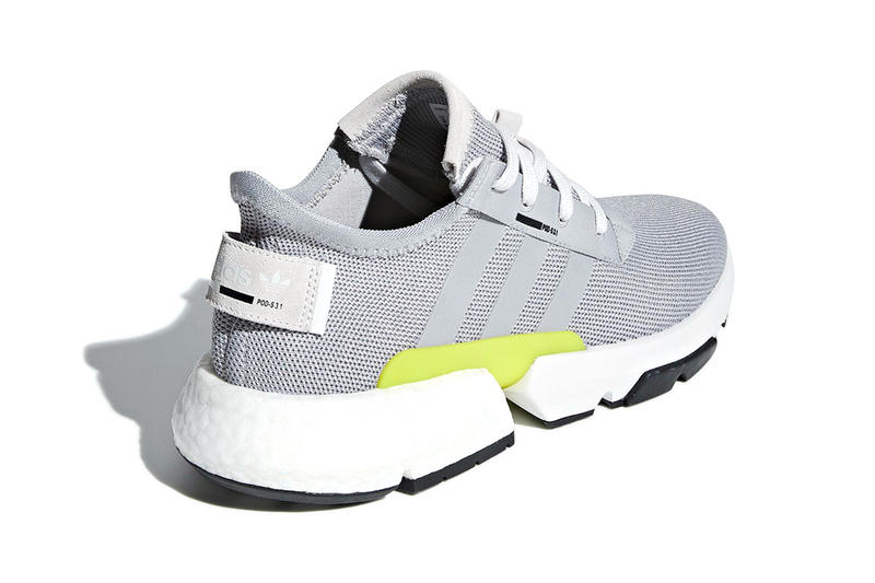 adidas POD S31 Grey Two launch sneakers footwear BOOST Release Volt