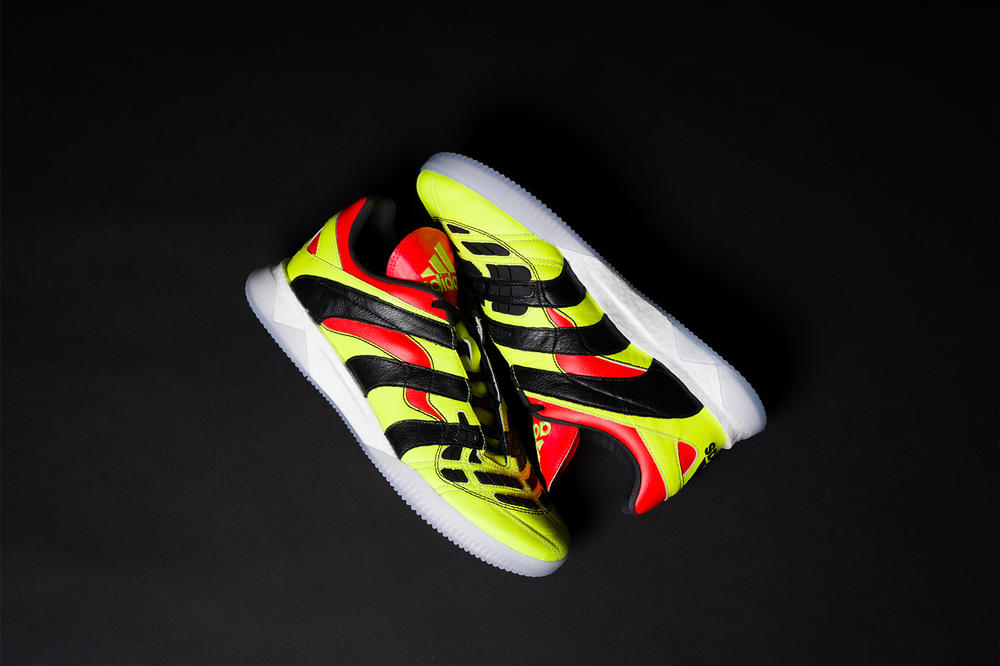 Adidas Predator Accelerato S Yellow Details Sneakers Kicks Shoes Trainers Boots Cop Purchase Buy Available Now Closer Look David Beckham Deadstock Zinedine Zidane