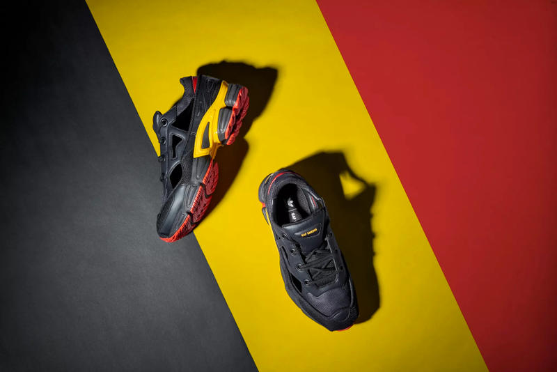 adidas x Raf Simons Replicant Ozweego Belgium Release Details Footwear Shoes Trainers Kicks Sneakers Raffle Cop Purchase Buy Available Now