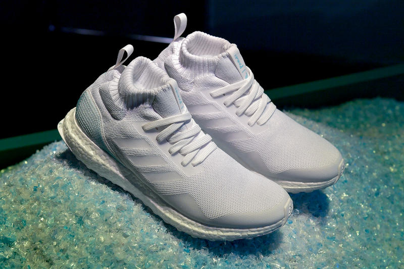reputable site 32187 6d5ae adidas originals parley ultraboost ultra boost 3.0 4.0 sneaker shoe plastic  recycle renewable 747 los angeles