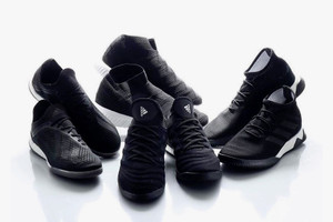 """adidas Tango Drops a Four-Part Sneaker Collection in """"Core Black"""""""