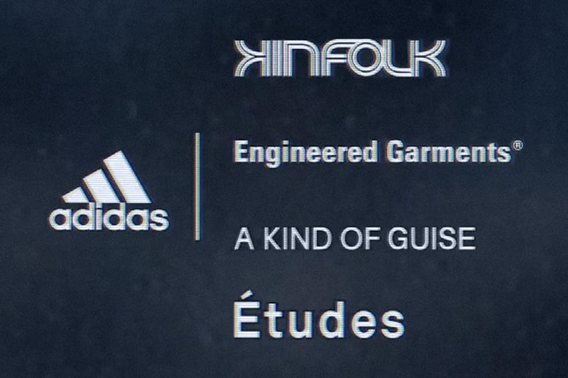 adidas UltraBOOST collective Fall/Winter 2018 A Kind of Guise Engineered Garments Nepenthes NY Kinfolk Études Etudes Release Details Teaser Announcement First Look Collaborations