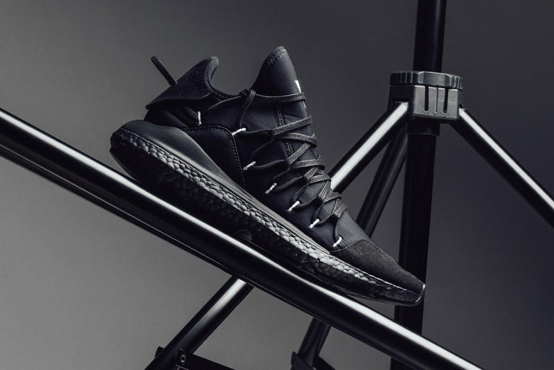 "adidas Y-3 Kusari ""Triple Black"" Release date available now price sneaker yohji yamamoto"