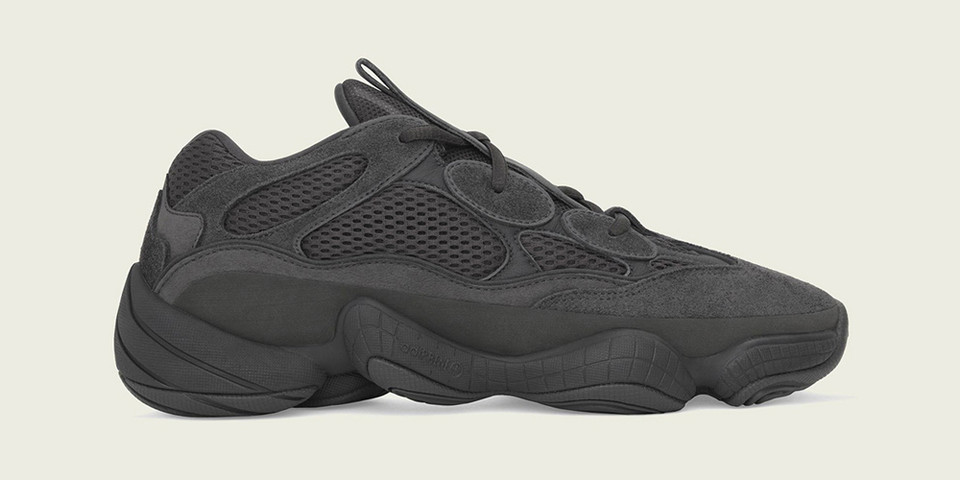 sports shoes 7ba85 da0e6 Where to Buy the adidas YEEZY 500 Utility Black  HYPEBEAST