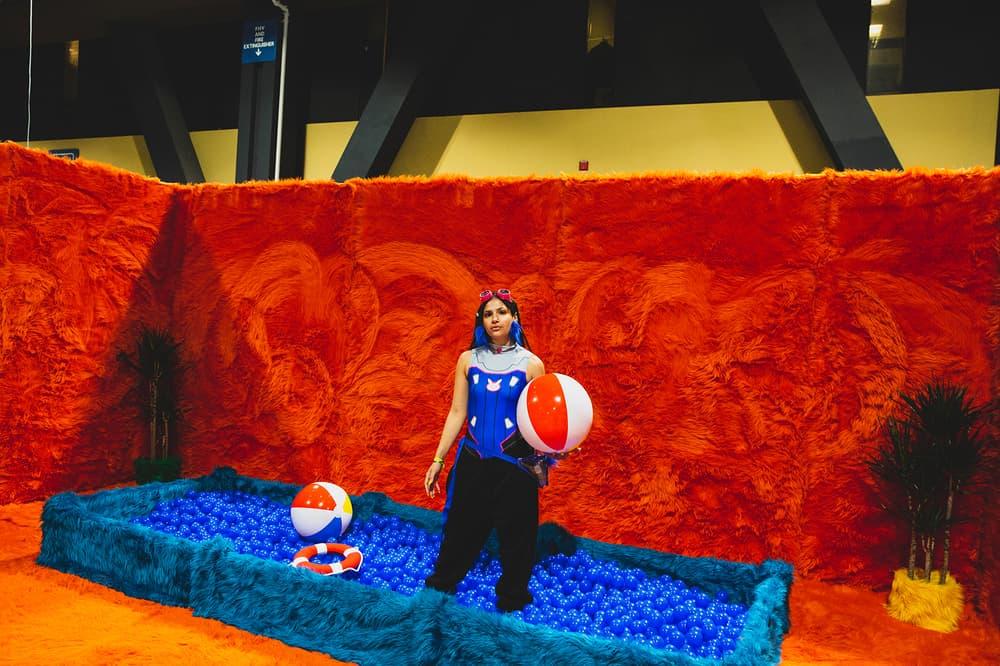 Agenda Las Vegas 2018 Recap photos pictures Brockhampton Lil Yachty Bhad Bhabie Lecrae Denzel Curry Spaghetti Boys Workaholics mark gonzales tradehow long beach Chinatown Market