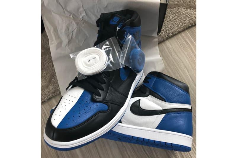 "Air Jordan 1 ""B.O.G."" Split Panel First Look jordan brand royal blue sneaker nike"