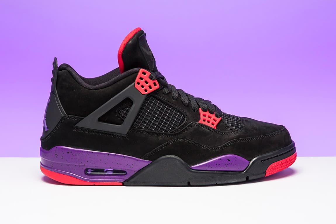 "The Air Jordan 4 ""Raptors"" Receives an Official Release Date"