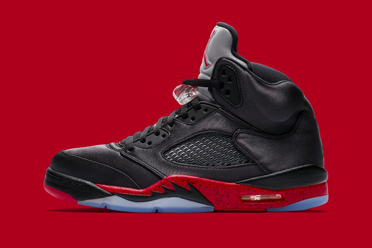 """9a69c6acdc46 Official Images of the Air Jordan 5 """"Bred"""" Finally Surface"""