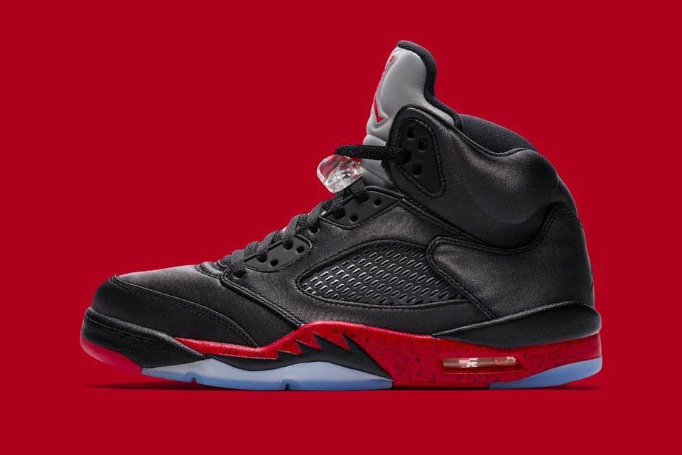 "sale retailer 94ac1 d6486 Official Images of the Air Jordan 5 ""Bred""   HYPEBEAST"