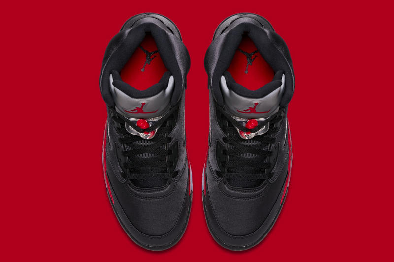 Air Jordan 5 Bred jordan brand official images release info black university red sneakers
