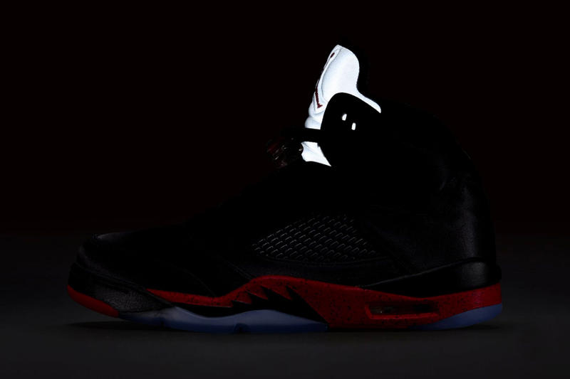 6d84b379901f Air Jordan 5 Bred jordan brand official images release info black  university red sneakers
