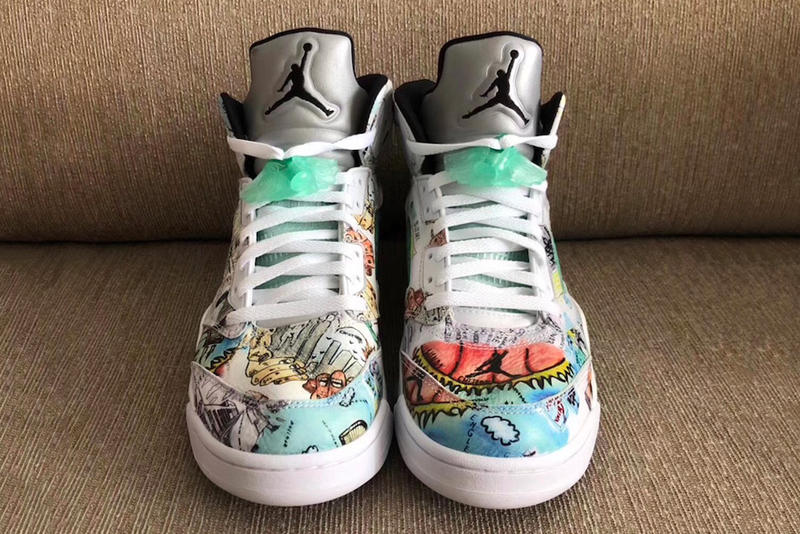 """Air Jordan 5 """"Wings"""" first look sneaker release date jordan brand michael jordan wings initiative"""