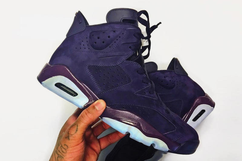309d1e8359aa Air Jordan 6 Purple Rain First Look Unreleased jordan brand employee Frank  Cooker sneaker footwear