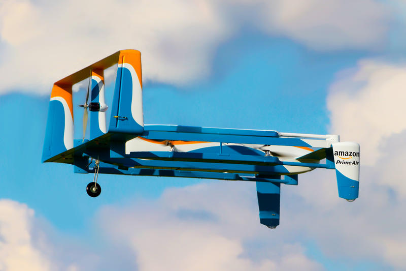 Amazon Prime Air Patent Delivery Drones Hijack-Proof Jeff Bezos nefarious individuals heartbeat feature
