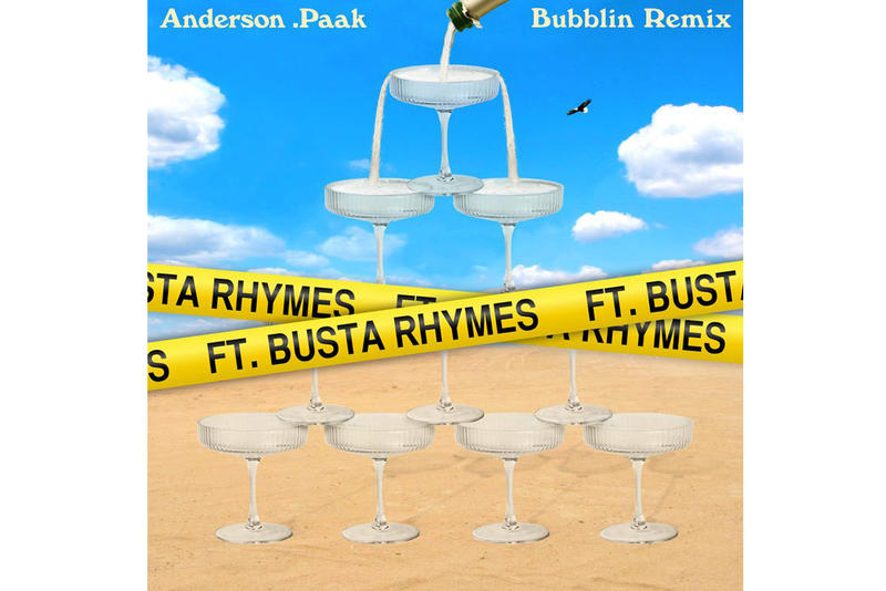 Anderson Paak Busta Rhymes Bubblin Remix