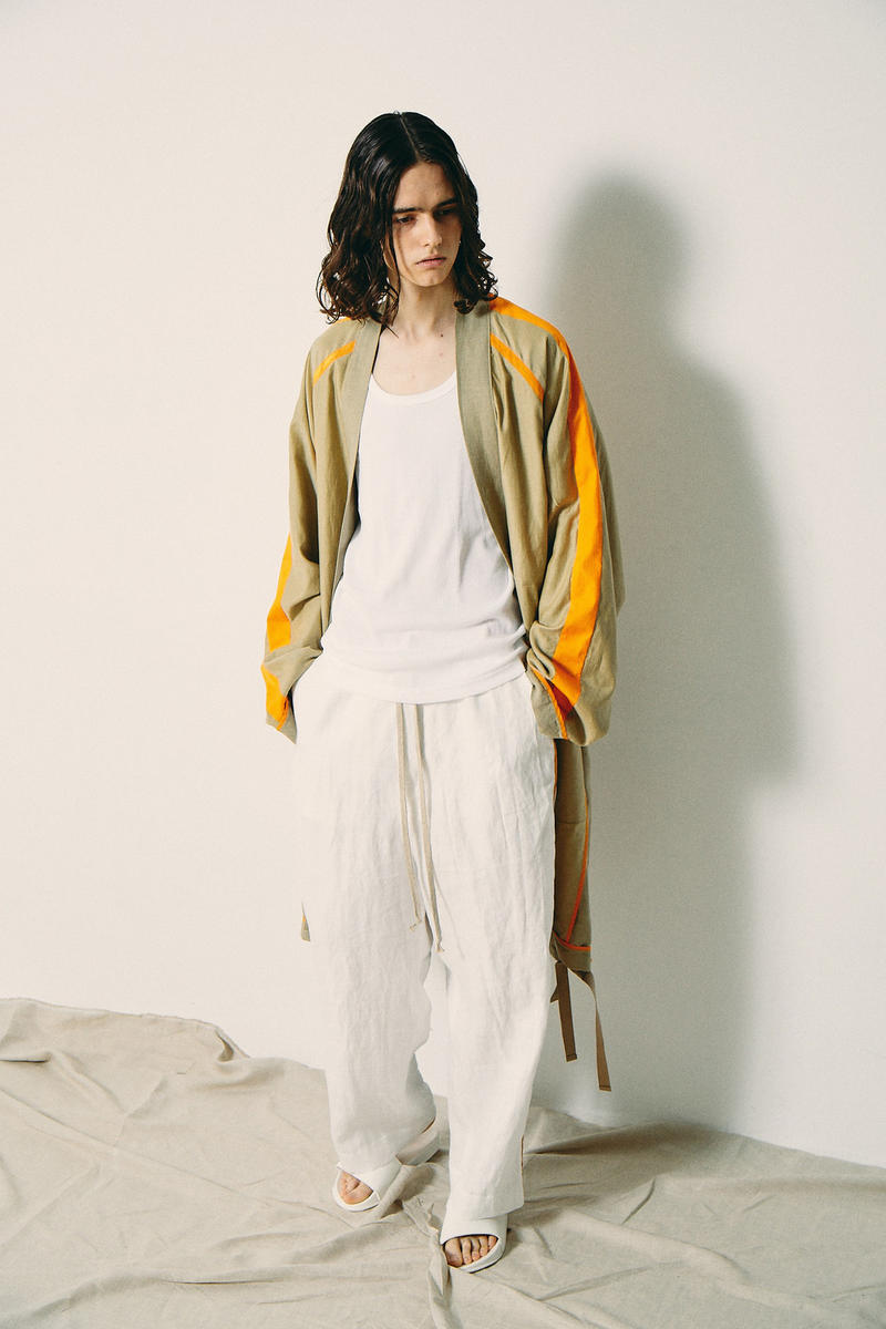 ANEI Spring Summer 2019 Collection Lookbook yu haishi visvim y-3 yohji yamamoto debut first collection japan