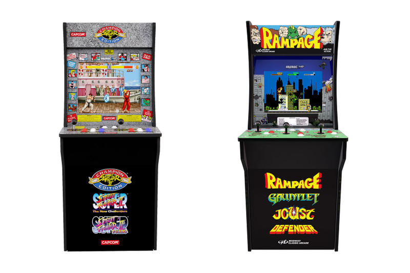 Street Fighter II & More Arcade1Up Arcade Cabinets Street Fighter II Asteroid Centipede