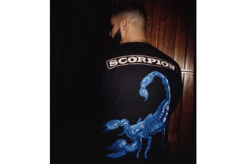 Drake Scorpion Merch Andrew Durgin-Barnes Matthew Burgess