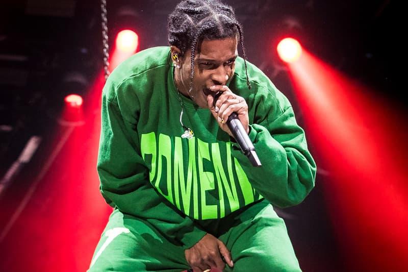 A$AP Rocky A$AP Bari FYF Fest
