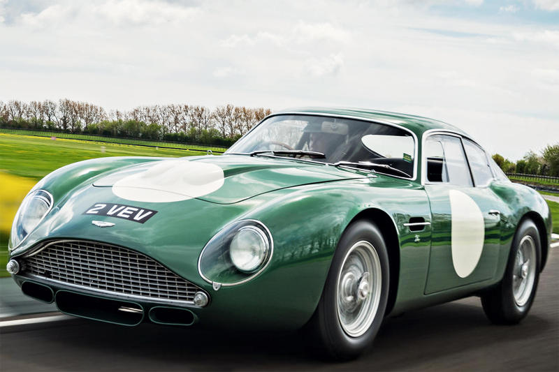 Aston Martin Mp209 Db4gt Zagato At Auction Hypebeast