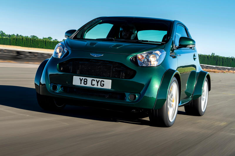 Aston Martin Q Division bespoke custom Cygnet V8 toyota iQ vehicles automobile