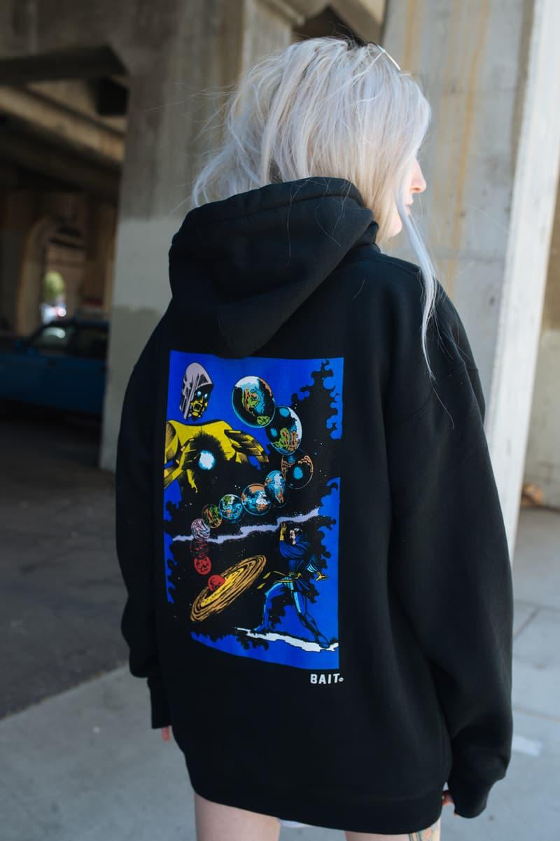 BAIT Marvel Vintage Comics Black Widow, Black Panther, Dr. Strange, Loki, Spiderman, Thanos, Thor