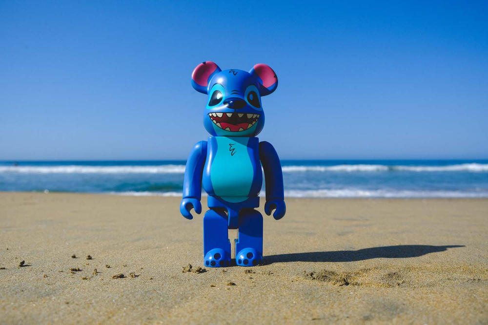 BAIT Medicom toy Bearbrick Stitch 400% San Diego Comic Con 2018 exclusive buy