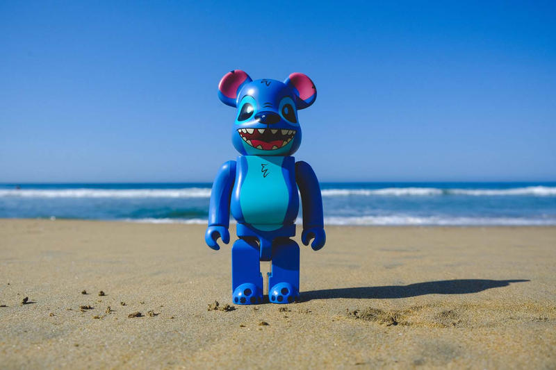BAIT Medicom toy Bearbrick Stitch 400% San Diego Comic Con 2018 exclusive buy
