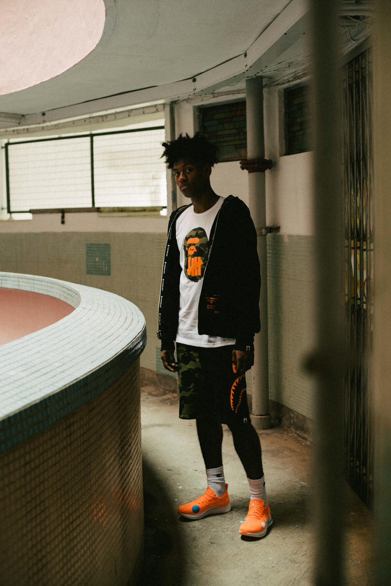 bape undefeated hong kong exclusive capsule lookbook