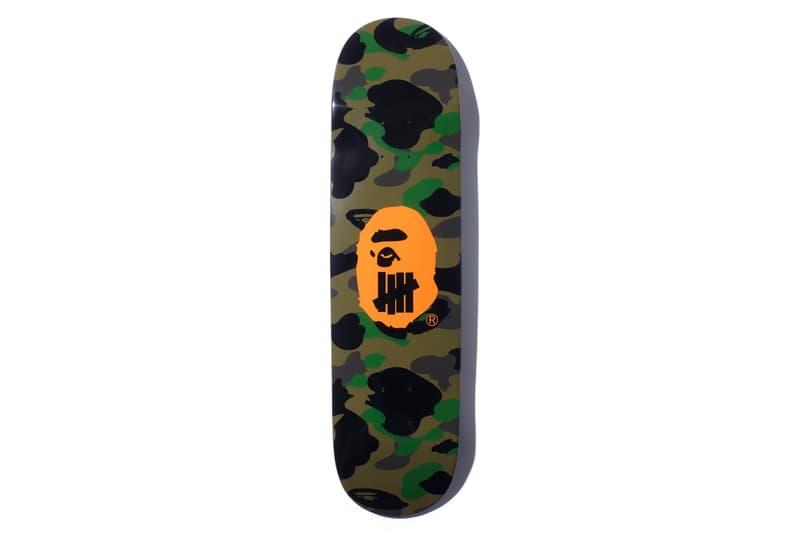 bape undefeated hong kong exclusive capsule skateboard