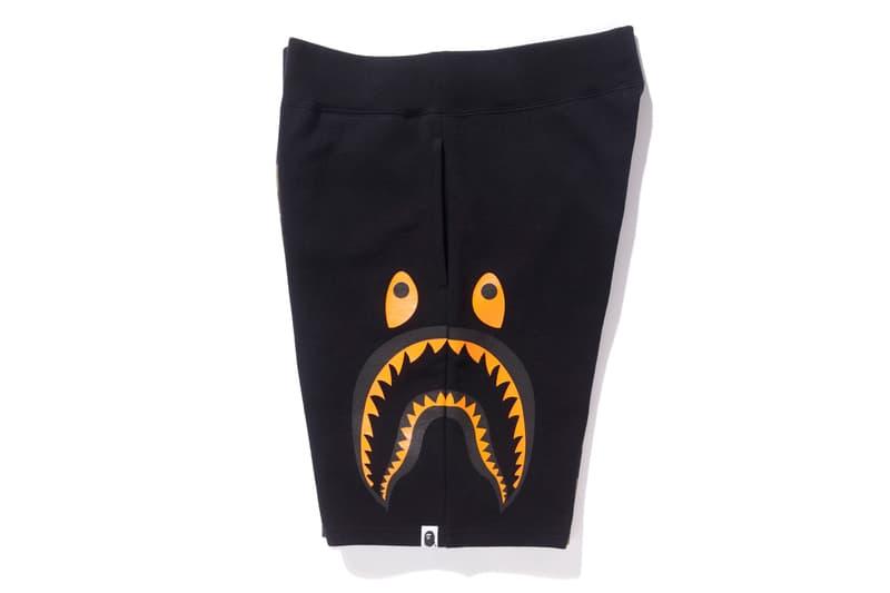 bape undefeated hong kong exclusive capsule shark shorts