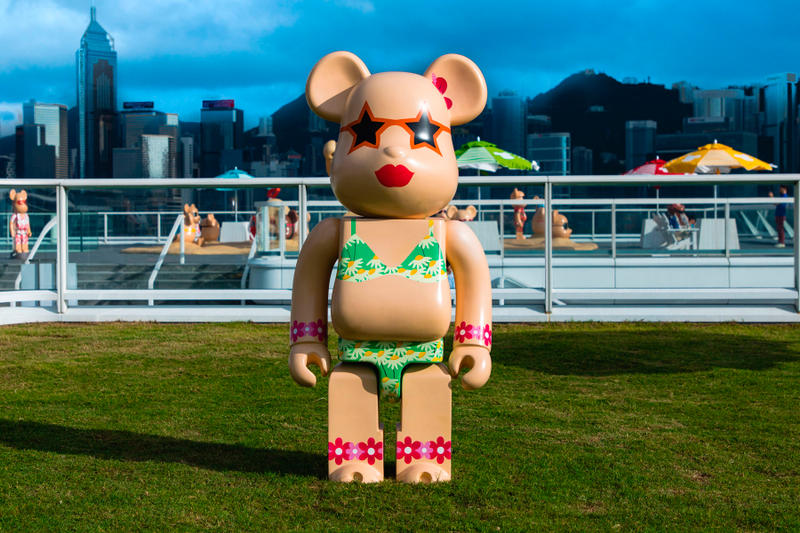 bearbrick harbour city summer chill 2000 percent bikini
