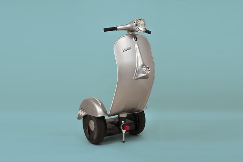 Bel & Bel Studio Vespa Scooter Segway Hybrid z-scooter autobalance EV price
