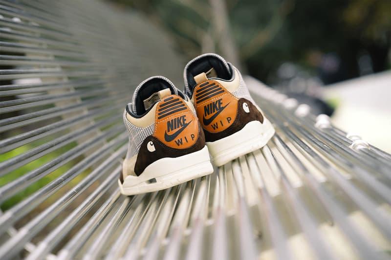 "BespokeIND Carhartt ""WIP3"" Air Jordan 3 Custom sneaker release date jordan brand nike"