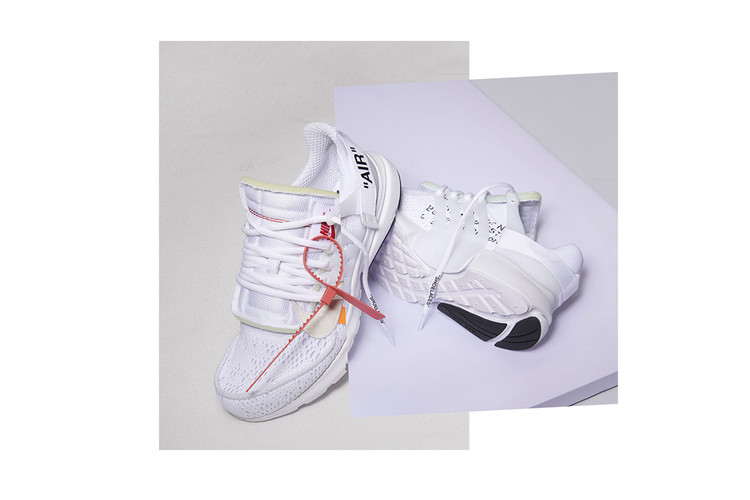 timeless design 4ee25 a59eb The Off-White™ x Nike Air Presto Returns in All-White for This