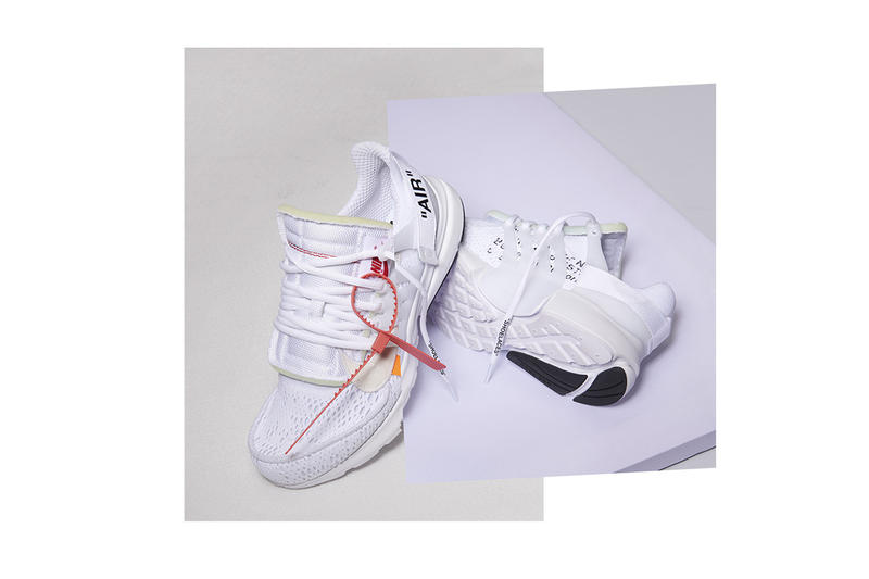The Off-White™ x Nike Air Presto Returns in All-White for This Week's Footwear Drops