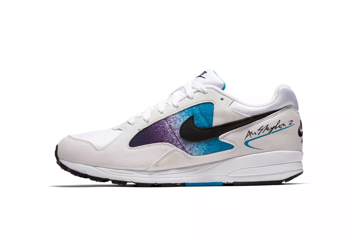 Nike Air Skylon II u201cWhiteGrand Purpleu201d u0026