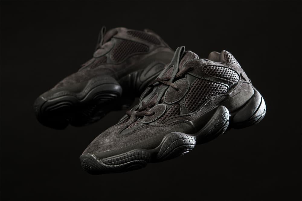 yeezy adidas 500 kanye west utility black sneaker shoe originals
